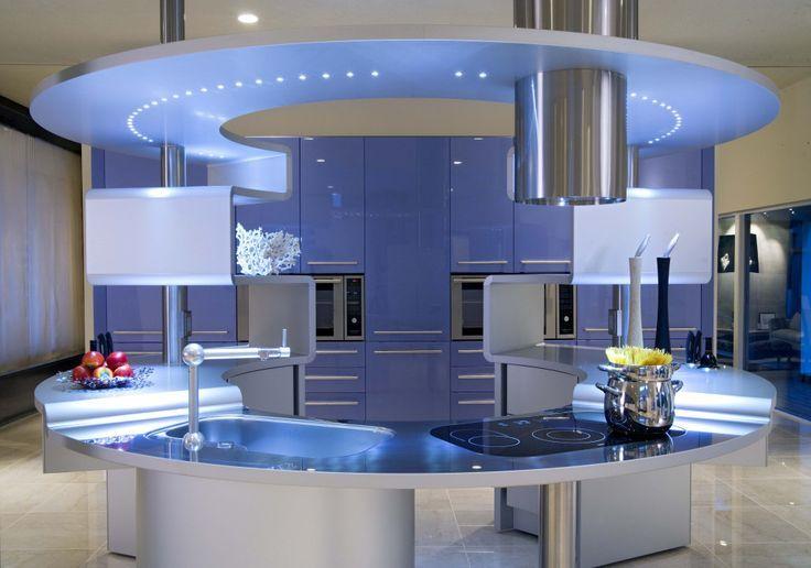 Hermosas cocinas modernas via cocinas - Ideas de cocinas modernas ...