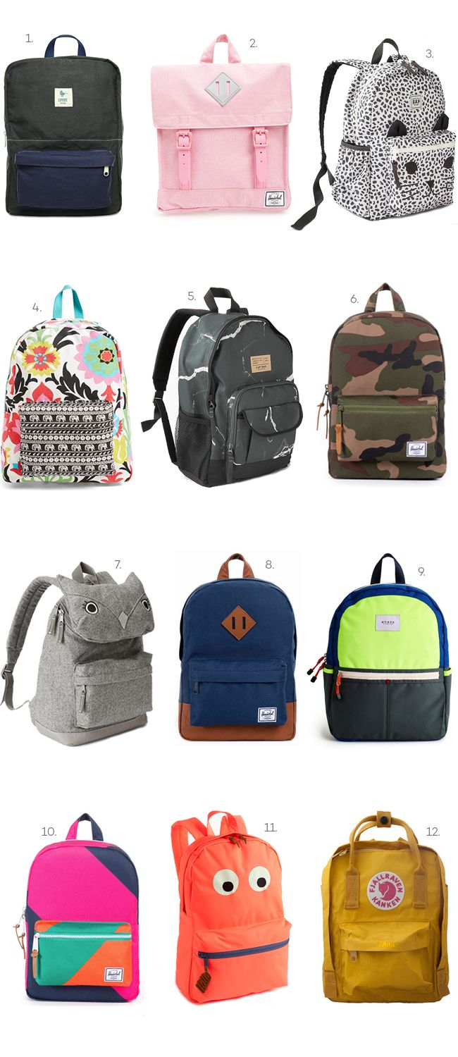 Kids Back-to-School Backpacks. stylish backpacks for kids  472de18f548c7