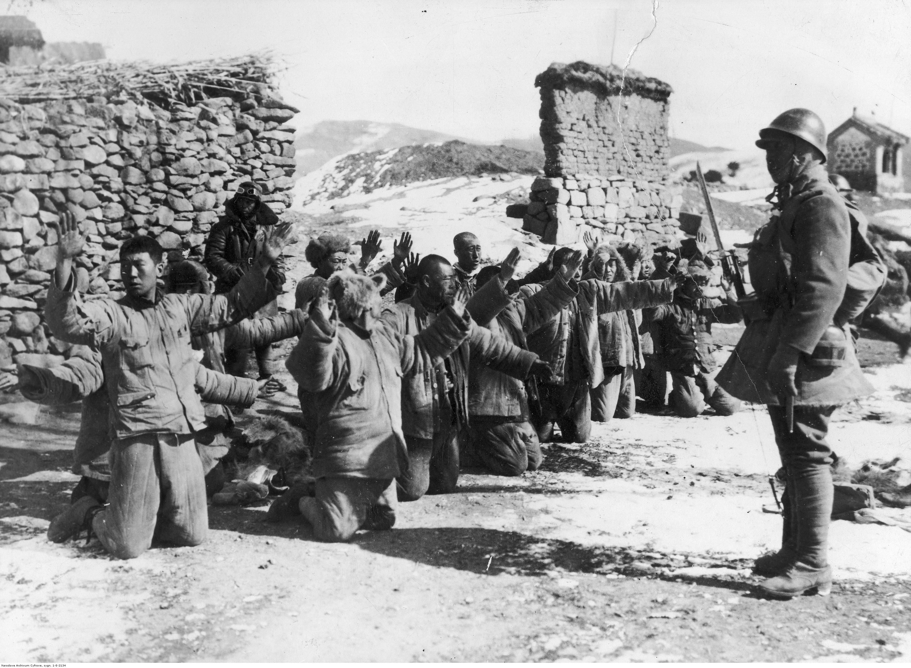 Province Of Jehol During The Japanese Invasion Of