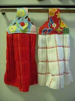 Add A Custom Decoration To Your Kitchen With DIY Dishtowels. These  Decorative Hanging Dishtowels Are Great For Your Kitchen. This DIY Dish  Towel Pattern ...