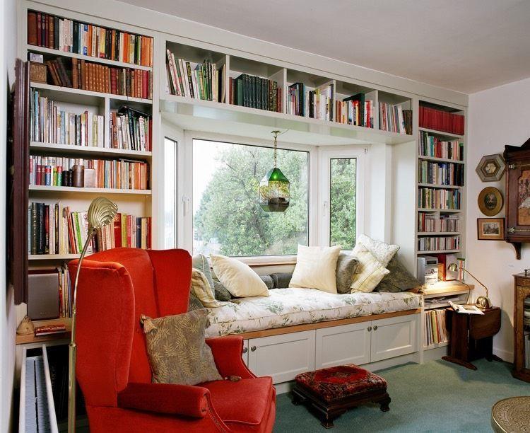 banquette sous fen tre 15 id es pour cr er un coin d tente cosy nooks pinterest. Black Bedroom Furniture Sets. Home Design Ideas