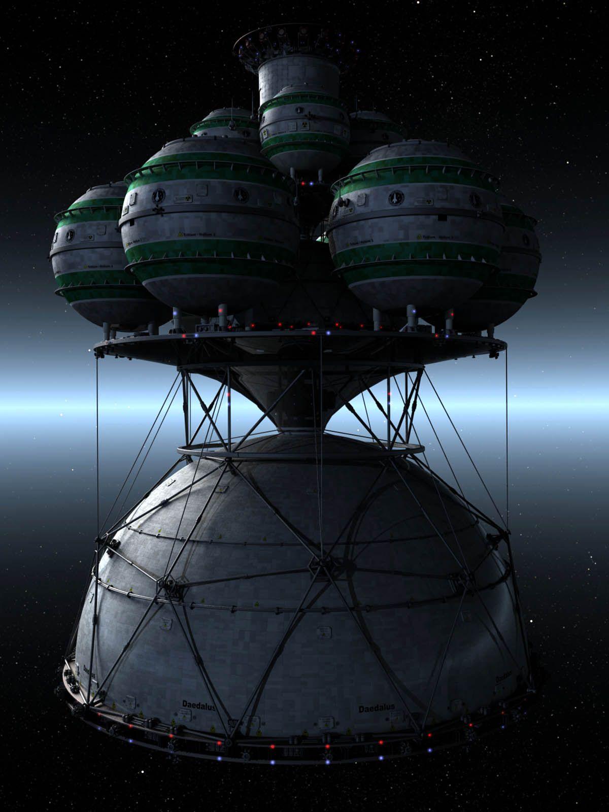 Daedalus Realistic Spacecraft Pinterest Spaceship