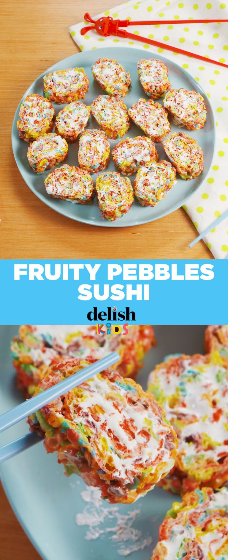 Fruity Pebbles Sushi Is Pure Magic #dessertsushi