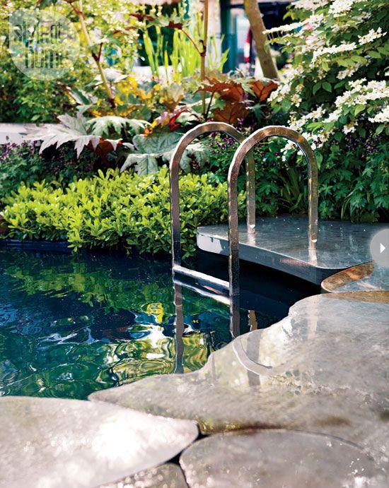 Garden design modern urban teen retreat plunge pool for Garden plunge pool
