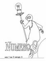 Images Of Coloriages Numero 9 Le Film De Tim Burton Wallpaper