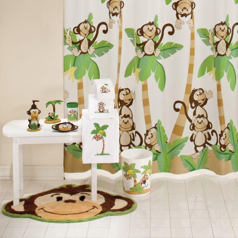 Wonderful Monkey Bathroom Decor