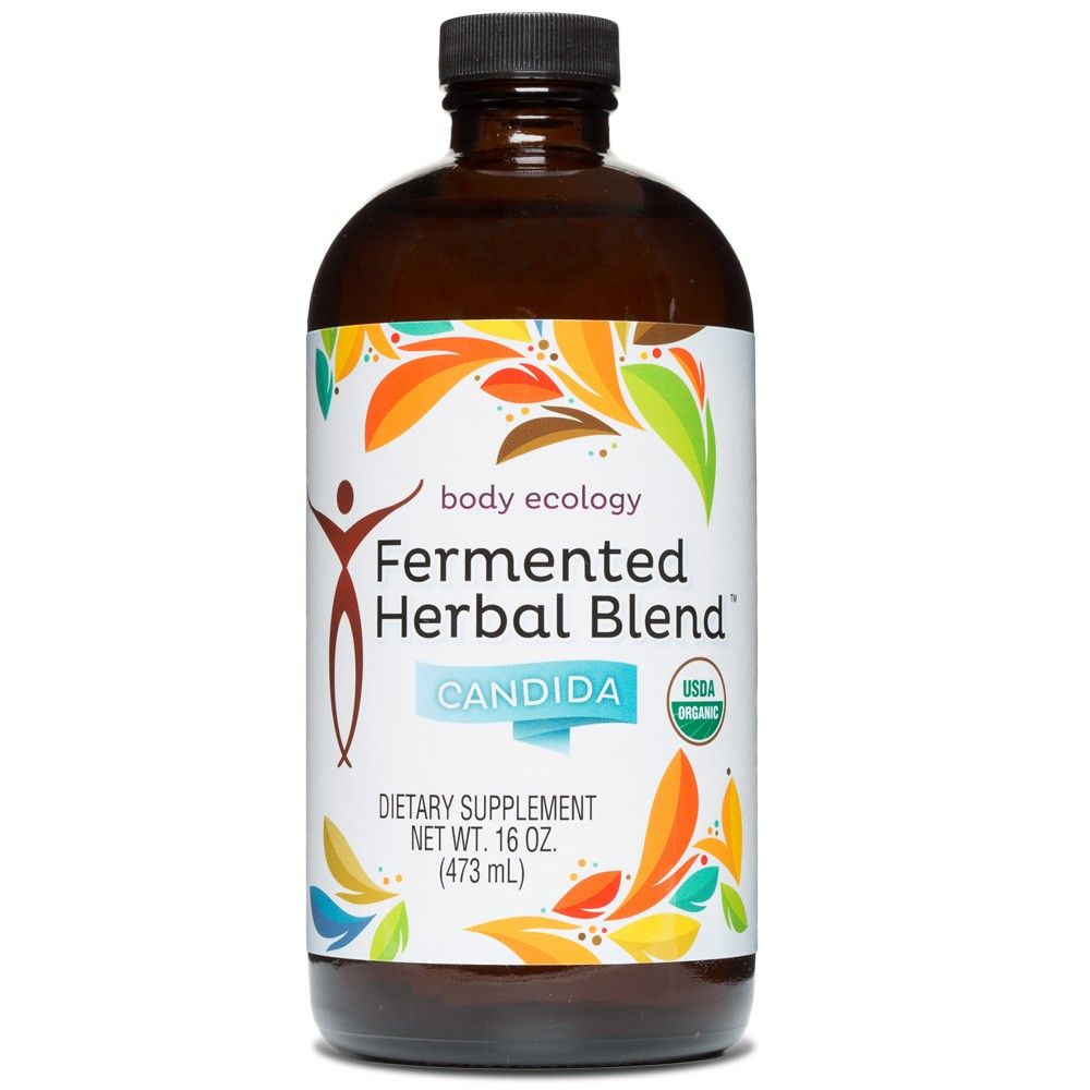 Body ecology canada fermented herbal blend candida