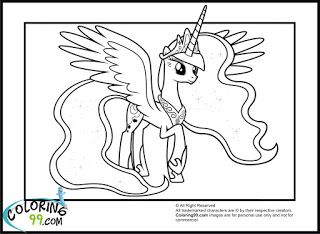 My Little Pony Princess Luna Coloring Pages Coloring99 Com