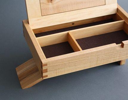 Cantilever Jewelry Box Reader S Gallery Fine Woodworking Boite Coffret Bibelot