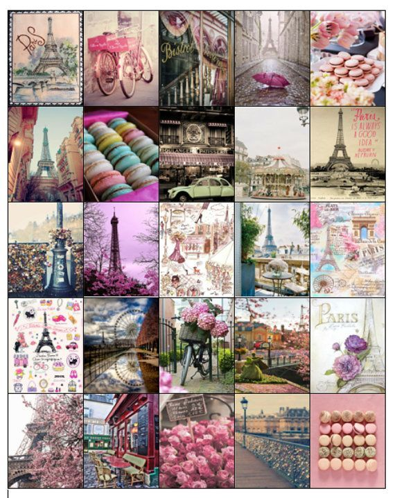 Parisian Theme Sticker Set for Erin Condren Life Planners/Kikki k/ Filofax/ Inkwell/ Plum Planner- HARD COPY