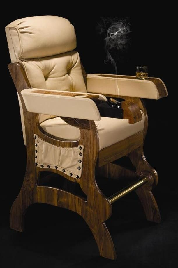 Hand Made Cigar Chair By Darafeev Custom Furniture   CustomMade.com