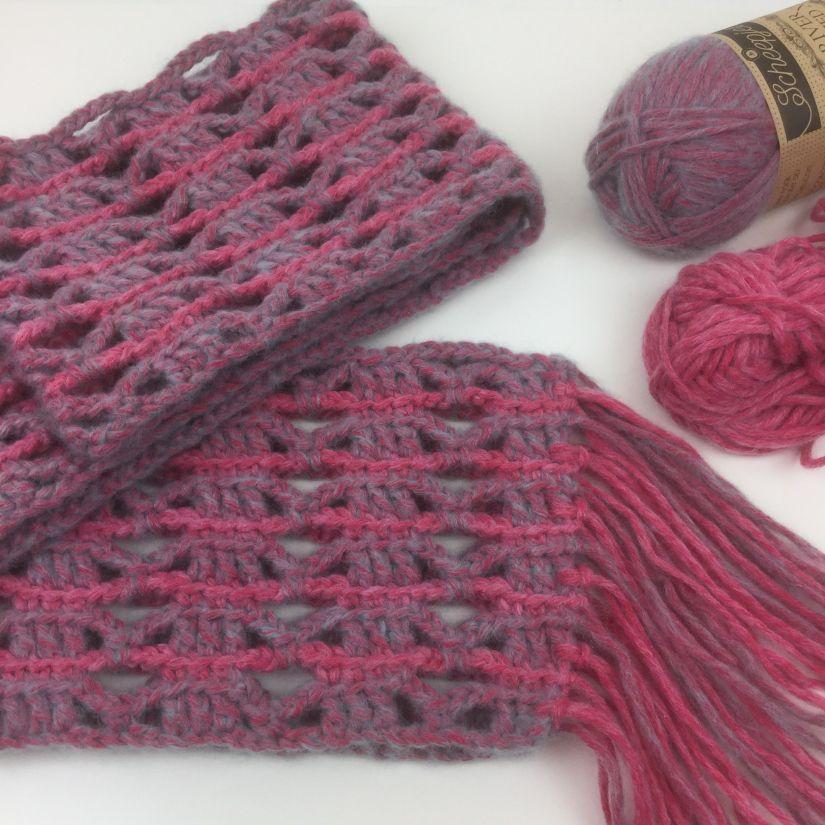 scarf UK terms Scarves uk, Crochet patterns, Double