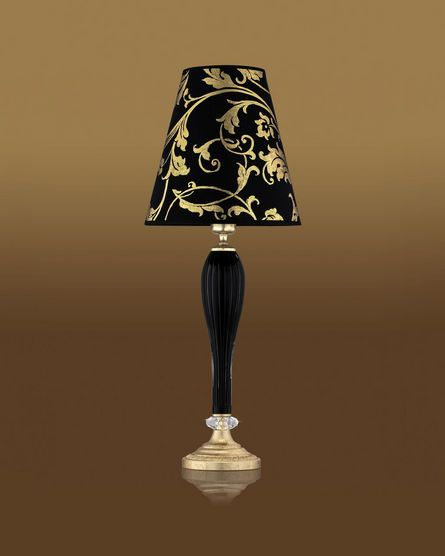 Superior Black And Gold Lamp Table Lamps Leonie 112 Lm Gold
