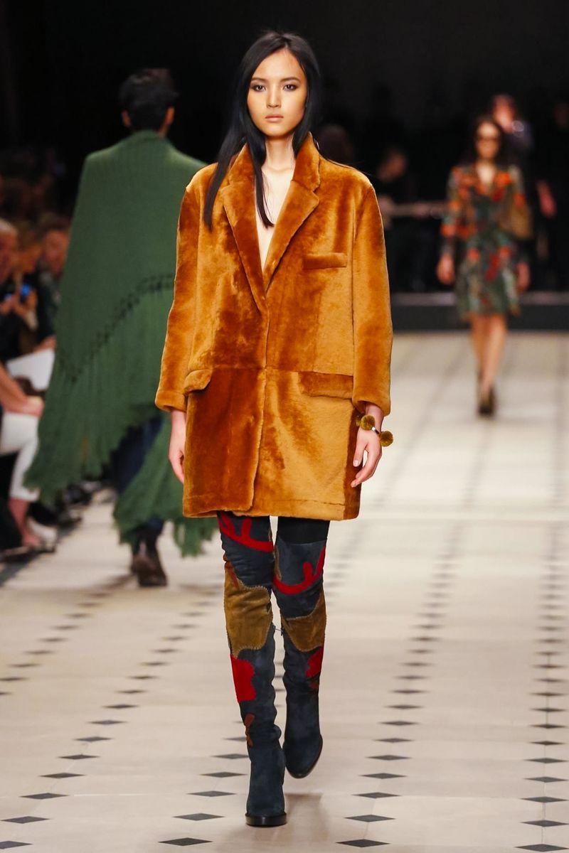 Burberry Prorsum Ready To Wear Fall Winter 2015 London - NOWFASHION