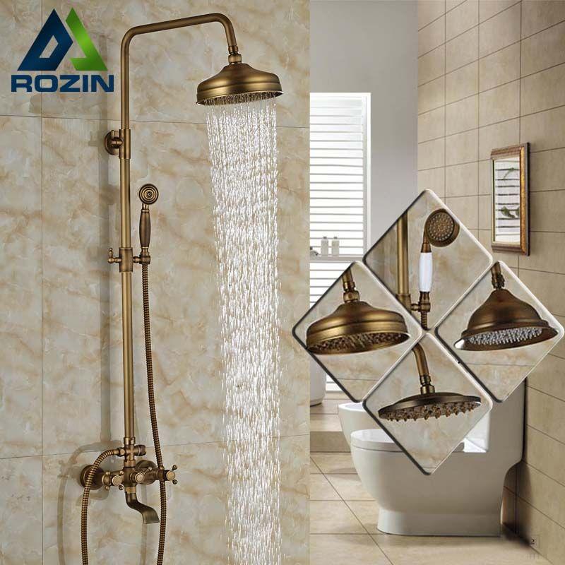 91.20 Buy Modern 6 model Bathroom Surface Mount Brass