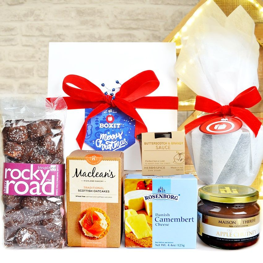 After Christmas Dinner Gift Box Dinner Gifts Gourmet Christmas Christmas Dinner