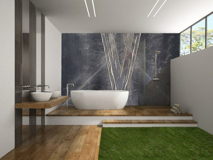 Salle de bain avec douche italienne  tout savoir avant de lu0027aménager! - salle de bains avec douche italienne