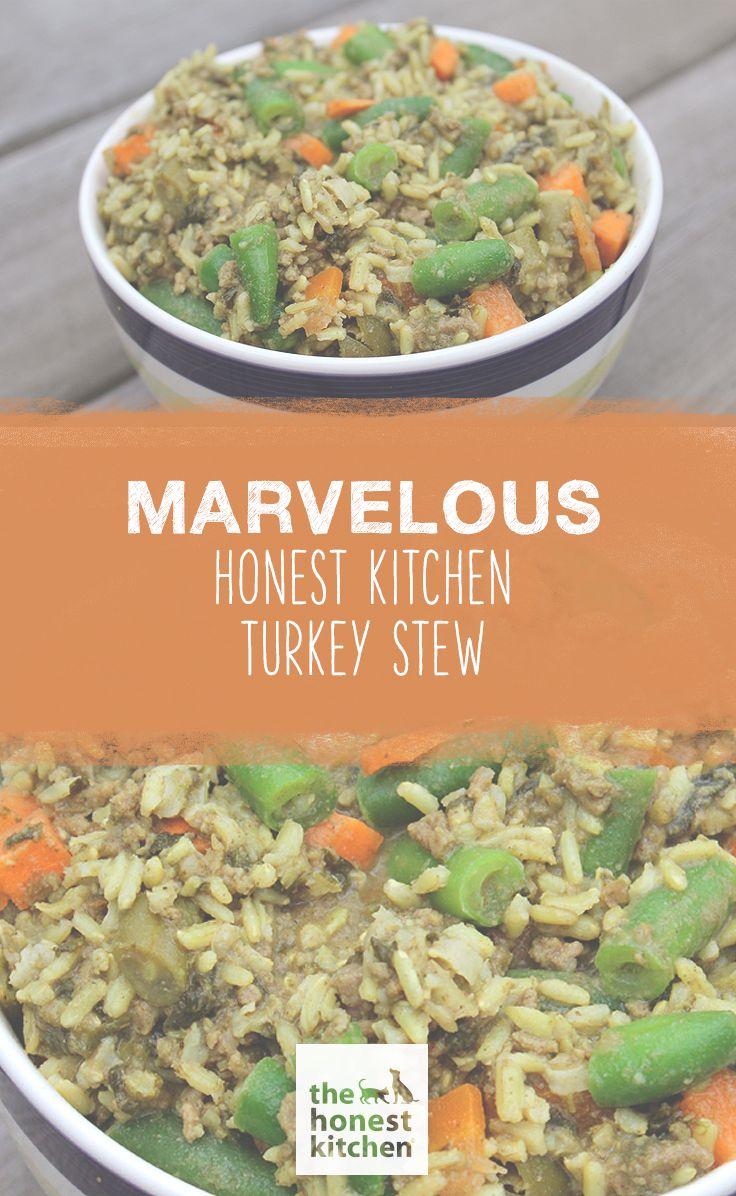 Pet Marvelous Honest Kitchen Turkey Stew Dog Food Recipes Dog