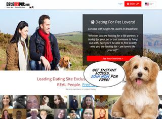 Pet lovers dating site usa