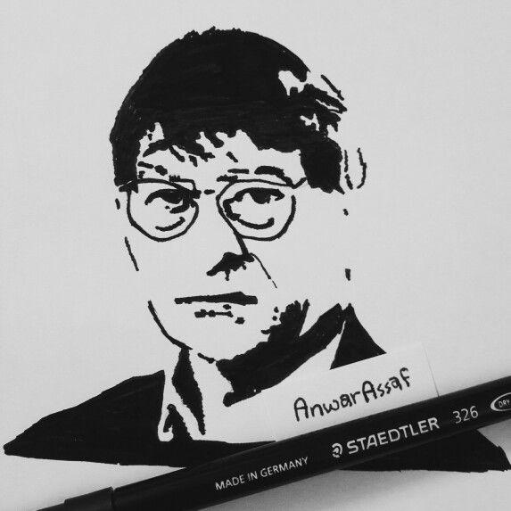 محمود درويش محمود درويس Pop Art By Me Pop Art Art Drawings