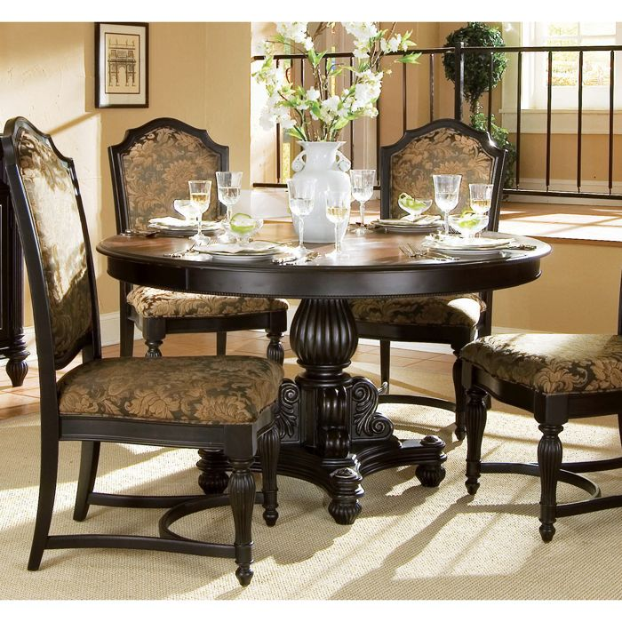Find This Pin And More On Table Settings Elegant Classic Round Dining Room
