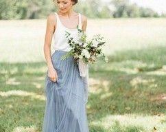 Bridesmaid Dresses,A Line Bridesmaid Dresses,Bridesmaid Dresses,Custom Bridesmaid Dress,Long Bridesmaid Dresses -   17 dress Bridesmaid tulle ideas