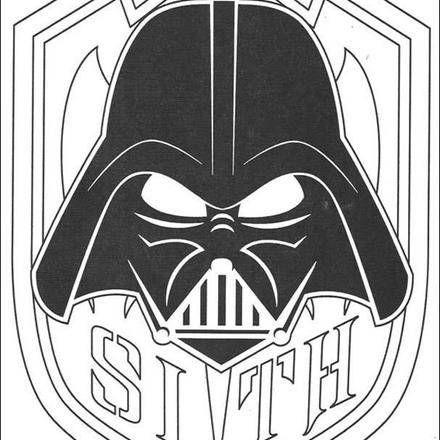 Dark vador dessin recherche google cricut projects pinterest coloriage star wars - Dessin dark vador ...