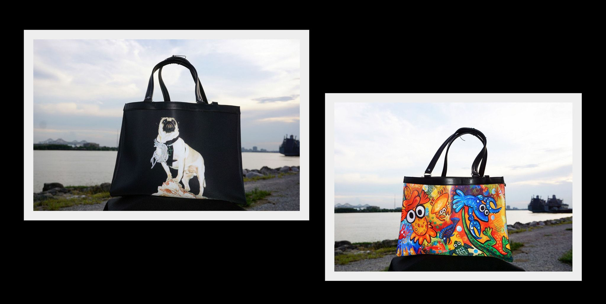 vinny the pug s quot mood bag quot pug products and the o jays