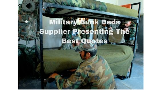 Etagenbett Tube : Military bunk beds supplier presenting the best quotes
