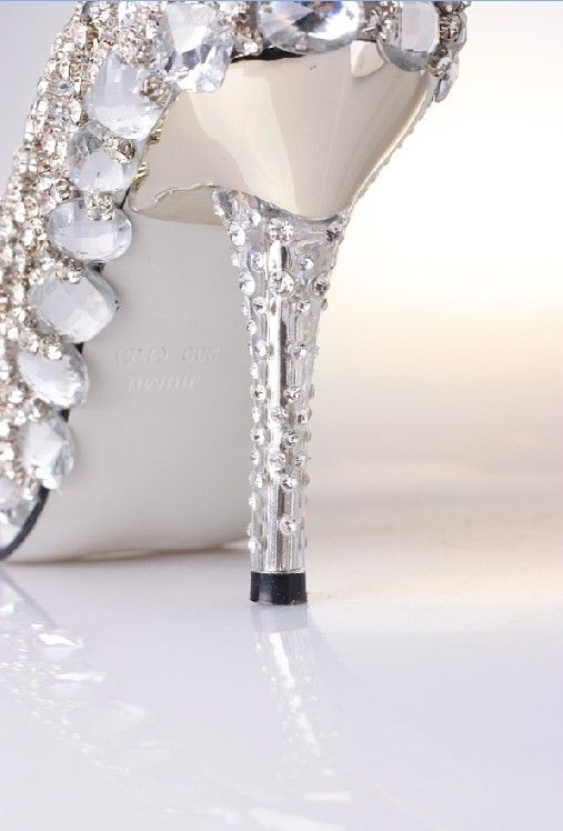 Lovely Quirkin.com Silver Wedding Shoes 105042 #cuteshoes