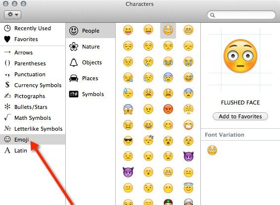 How To Use Emoji On Mac Without Installing Additional App Emoji Emoji Characters Pictograph