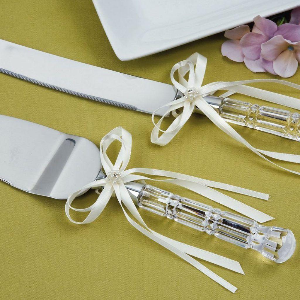Cake Server Set, Engraved Wedding Cake Knife Set, Personalized ...