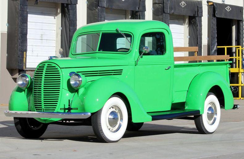 1938 Ford Custom 1 2 Ton Pickup Vintage Pickup Trucks Vintage