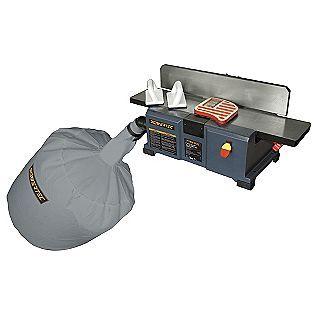 Powertec 6 Bench Jointer Tools Woodworking Jointers Dust Collection Dust Collection System Woodworking Hand Tools