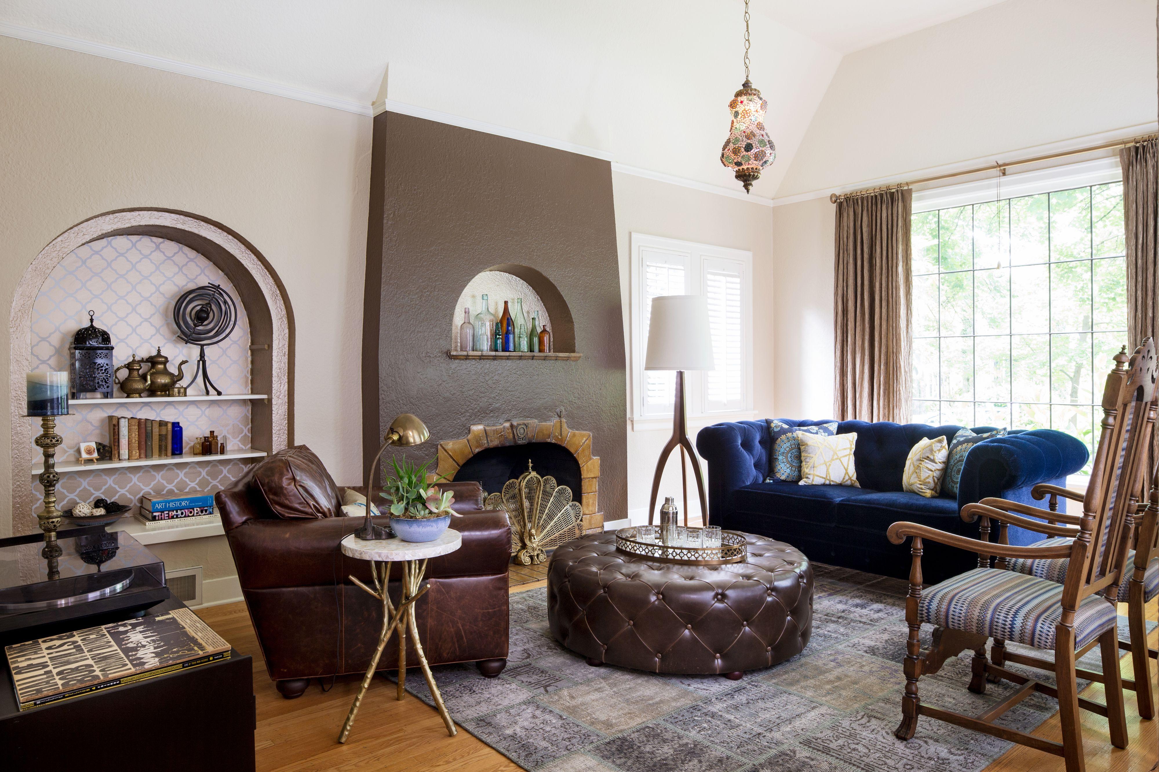 Eastmoreland global inspired living room