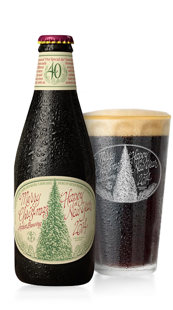 gift idea for him christmas ale from anchor brewing sold only from early november to midjanuary the ales recipe is different every year as is the tree - Christmas Ale Recipe
