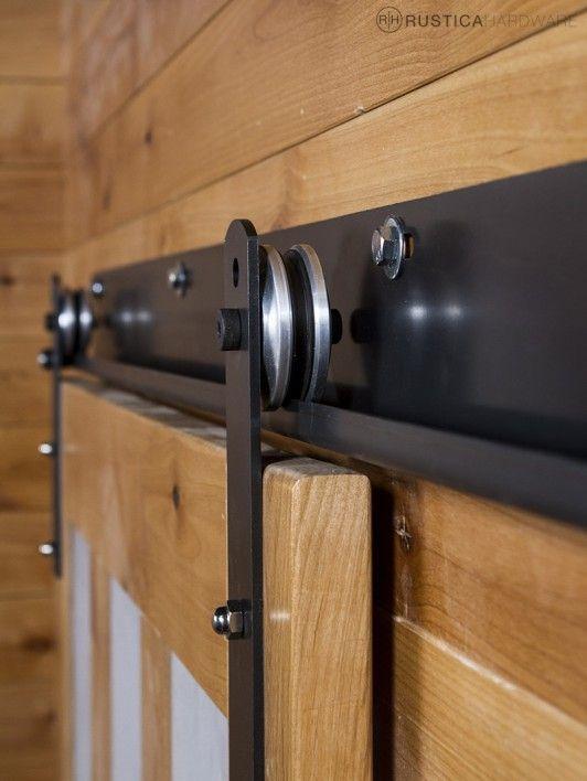 J Sliding Barn Door Track Portes coulissantes, Portes et Recherche - Roulette Porte De Placard Coulissante