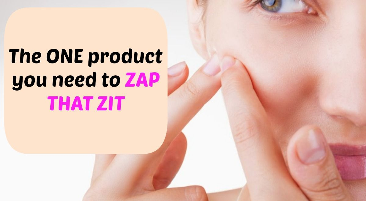 The BEST #acne treatment that will zap that #zit | The Dating Department