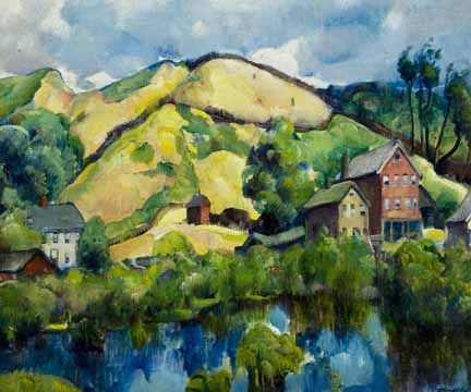 Landscape by William Zorach