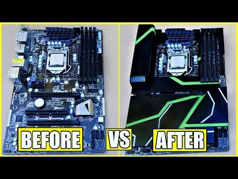 How To Make A Diy Acrylic Motherboard Armor Paint The Plexiglass