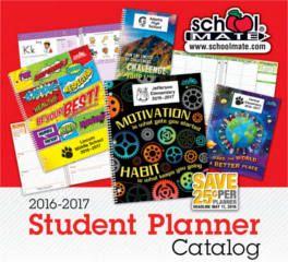 FREE 2016-2017 School Mate Catalogs, Planner & Folder