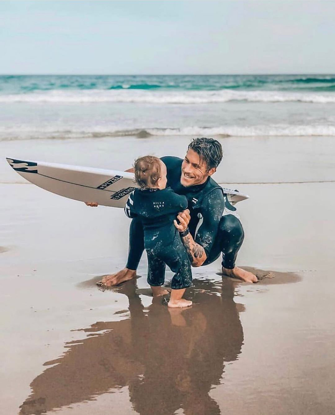 Surfing Nerds On Instagram Gooooal Tag Your Friends Credit Thesurfnanny Follow Surfing Nerds If You In 2020 Surfer Baby Surf Baby Surfing