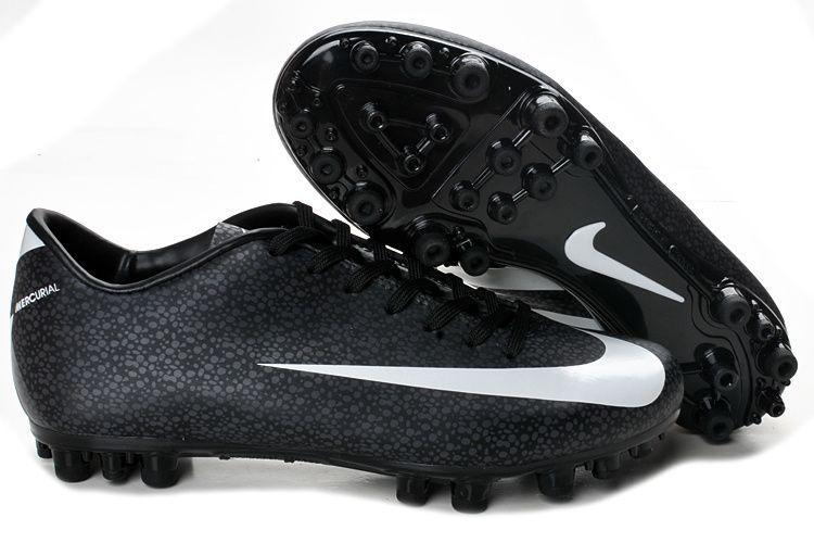 buy online e3d0b a6a47 ... Chaussures de foot nike Mercurial Vapor Superfly III FG Noir Blanc pas  cher ...