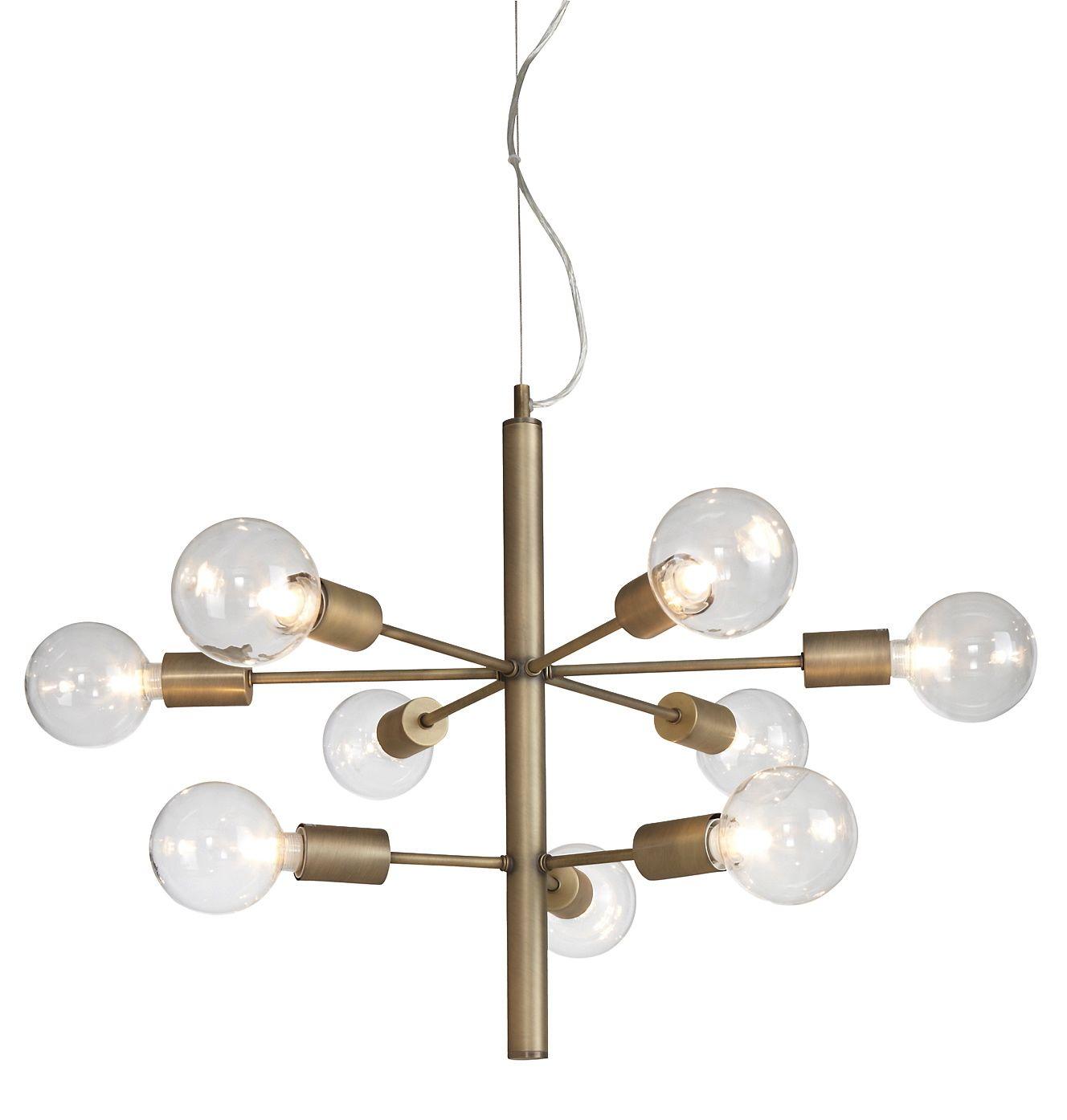 Lampa, mässing