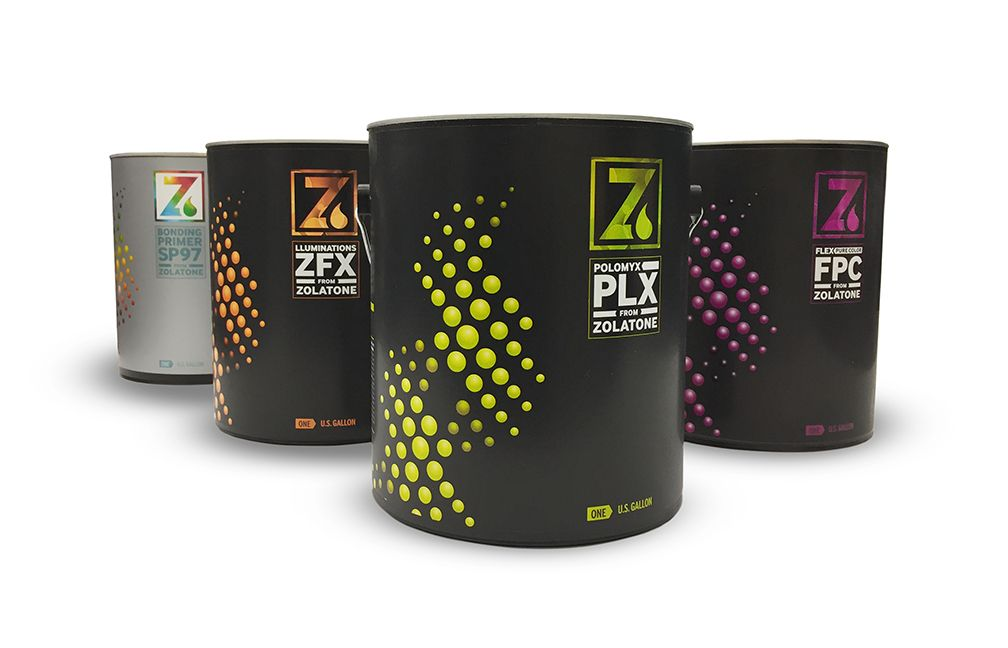 56492bb98551 Paint packaging, design trends, packaging trends, Zolatone | Design ...
