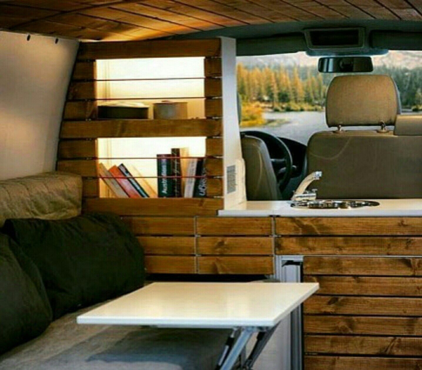 Vw Camper Ideas Campervan Interior 24 Utilitaire Amenage