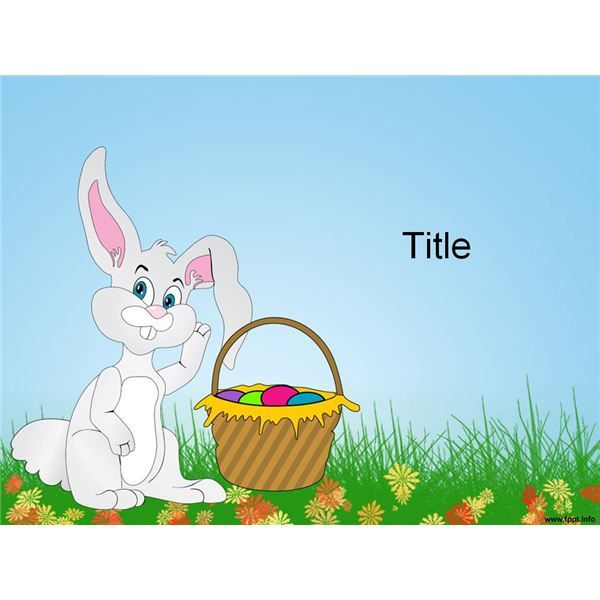 Top  Easter Bunny Templates For Desktop Publishing Programs