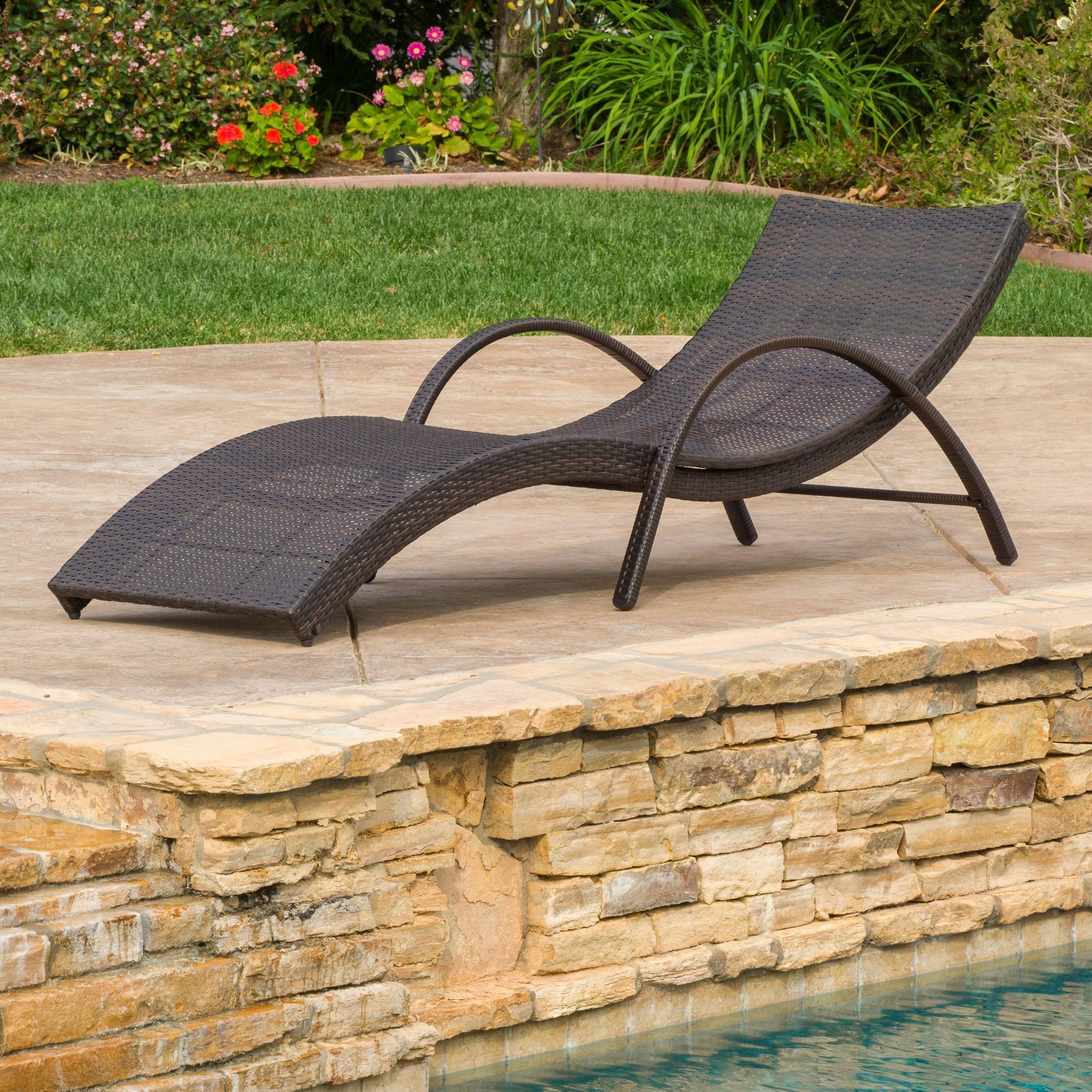 Acapulco Outdoor Wicker Folding Armed