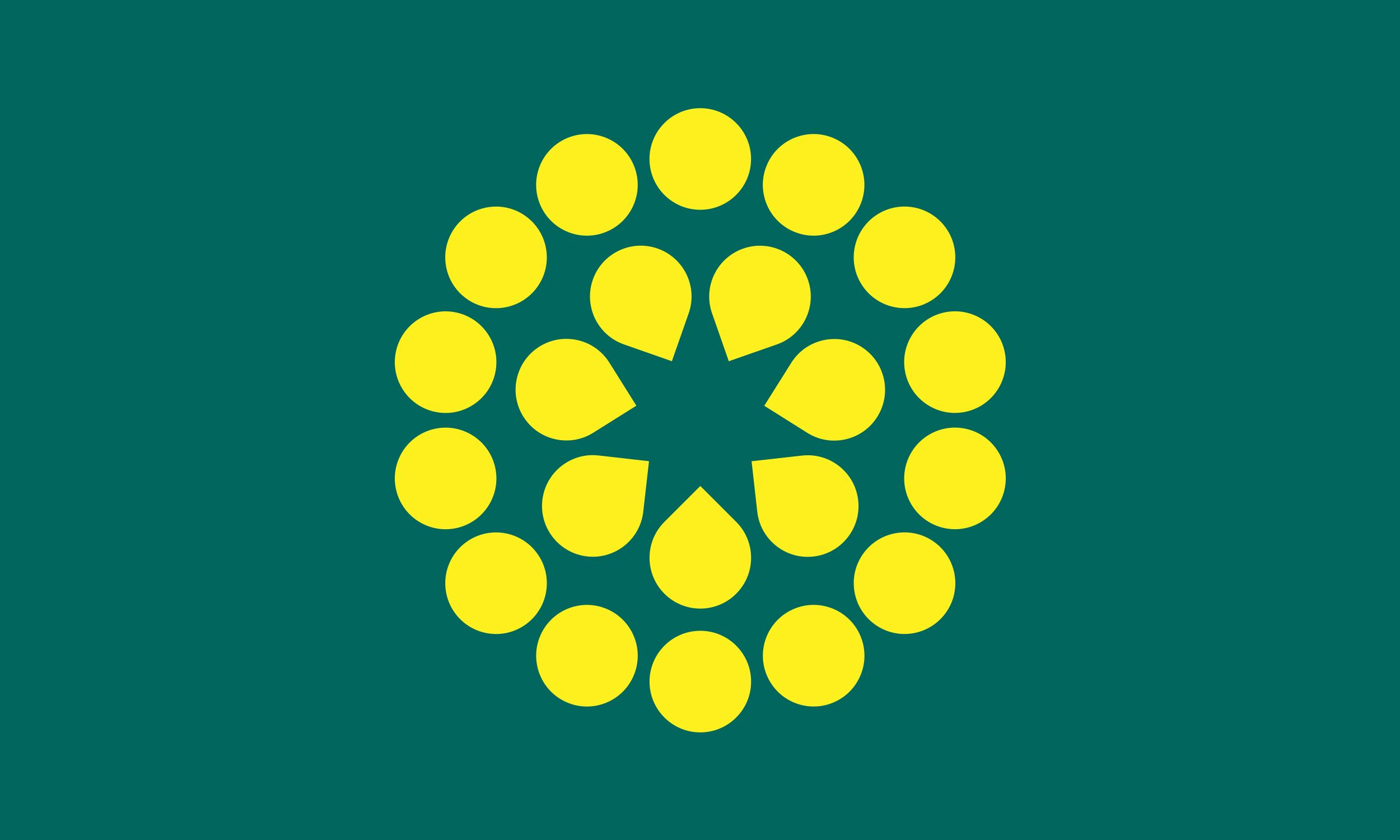 The Golden Wattle flag (Myrtle2). Copyright © Golden