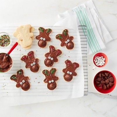 Hershey S Kisses Reindeer Sugar Cookies Recipe Target Recipes